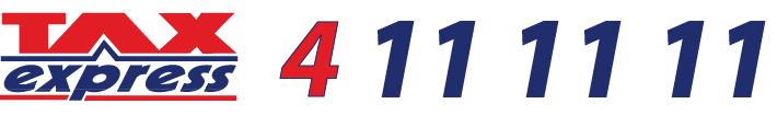 TaxExpress 411 11 11